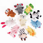 1-10 Pcs Finger Puppets Cloth Plush Doll Baby Educational Hand Cartoon Animal