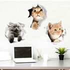 3D Dog Cat Wall Stickers Self Adhesive Wall Decal Sticker For Wall Fridge Toilet