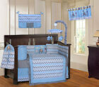 Babyfad Elephant Chevron ZigZag 10 Piece Crib Bedding Set <br/> Direct from Wayfair