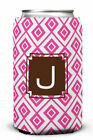 Dabney Lee Lucy Single Initial Can Beverage Sleeve