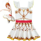 Внешний вид - Girls Movie Ballerina Leap! Felicie Dress Costume Tutu Sleeveless Dress New US