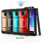 CASE FOR [ZTE BLADE SPARK (Z971)] PROTECH ARMOR SHOCKPROOF DEFENDER PHONE COVER