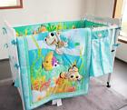 Baby Boy Bedding Sets Crib Nursery Cartoon Nemo Fish Quilt Bumper Sheet Skirt