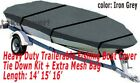 14' - 16' Aluminum Fishing Boat Cover Trailerable  image