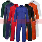 Mens Ladies Boilersuit Overall Coverall Workwear Mechanics Warehouse Garages