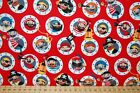 Riley Blake 'Pirate's Life' 100% Cotton Fabric by the FQ Treasure/Shark