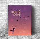 Forever Young by Rod Stewart - Song Lyric Inspired Music Quote Canvas Plaque Art