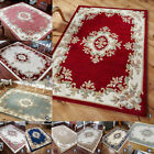 NEW 100% INDIAN WOOL SOFT BEST TRADITIONAL ROYAL CLASSIC HAND TUFTED RUG & ROUND