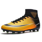 Durable Football Boots Men Outdoor FG Soccer Cleats Shoes Athletic Sport Sneaker