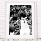 JAMES HARDEN - NBA Basketball Poster Picture Print Sizes A5 to A0 **FREE DELIVER on eBay
