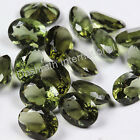 Natural Green Moldavite Oval Faceted Cut 10X12mm Calibrated Loose Gemstone