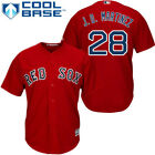 JD Martinez 28 red cool base Red Sox Jersey