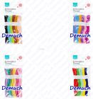 12 SKEINS EMBROIDERY Sewing THREAD Cotton Assorted Cross Stitch Braiding Craft ✔