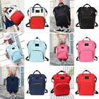 Maternity Diaper Nappy Bags Mummy Waterproof Travel Backpacks For Mom Baby Care