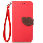 For iPhone XS Max XR X 8Plus Leather Card Wallet Flip Magnetic Stand Case Cover