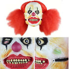 Bloody Zombie / Clown Scary Mask Melting Face Latex Costume Halloween Holiday