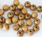 Pine Natural Round Wood Spacer wooden Beads Fit for bracelet necklace DIY jewelr