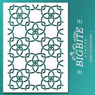 Shabby Chic STENCIL: Wallpaper Modern Pattern (Furniture Print Transfer) #052