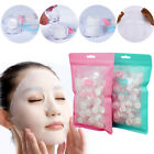 50/100pc Compressed Cotton Facial Face Mask Sheet Paper Natural Skin Care hi