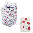 Waterproof Zippered Washing Machine Top Cover Dust Guard Dryer Dustproof Protect