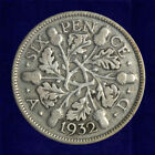 Silver Sixpence : 1911-1936 : George V : Lucky 6d Coin : Choose Year