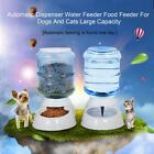 3.5L Pet Dogs Cat Puppy Automatic Bowl Water Drinker Dispenser food Feeder A ST