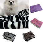 Durable Cute Warm Soft Cotton Linter Pet Dogs Cats Bed Blanket Puppy Sleep Mat
