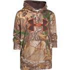 UNDER ARMOUR Camo Big Logo Hoodie Youth 1249748-947 Realtree Xtra