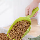 Plastic Pet Cat Dog Puppy Food S Spoon Scoop Shovel Feeding Seed FeedMA6K