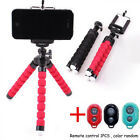 Universal Flexible Stand Tripod Mount For iPhone Smart Phone Octopus Holder Set