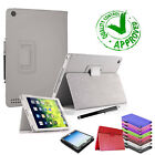 New Smart Stand Leather Magnetic Case Cover For Apple iPad mini 4 3 2 Air 2 Pro <br/> FREE SCREEN PROTECTOR- SAME DAY 3PM