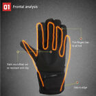 Touchscreen-Cordless Battery Heated Glove Liners Waterproof Skiing Fabric Gloves