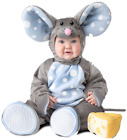Baby Boys Girls Deluxe Mouse With Cheese Fancy Dress Costume Outfit 6-24 months