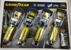 "1,2,4,8,+ Goodyear Heavy Duty 16 FT 1-1/2"" Nylon Ratchet Tie Down Straps 3300lbs"