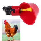 Chicken Fowl Drinker Poultry Pigeon Drinking Cup Bird Automatic Drink Bowl 1-10x