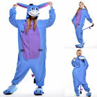 Unisex Adult Winnie The Pooh Flannel Onesie11 Cosplay Costume Kigurumi Pajamas*