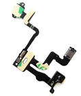 For iPhone 4 4S 5 5S 5C  Power On/Off Volume Button Mute Switch Key Flex Cable
