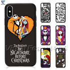Nightmare Before Christmas Phone Case Jack Sally For iPhone XS Max 8 Plus 7+ SE