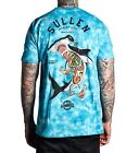 SULLEN CLOTHING HAMMERED SHARK SKULL TATTOO SCENE T SHIRT 4 SONS BREWERY BEER
