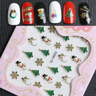 Christmas Nail Art Transfer Stickers 3D Design  Decals Decoration Tips