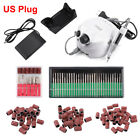 30Pcs Bits Electric Nail Drill Sanding Bands Nail Art Pedicure Machine Accessory