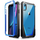 For Apple iPhone XR Poetic Guardian w/ Built-in-Screen Protector Case 5 Color