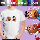 Disney Toy Story Mr. Mrs. Potato Head Couple Funny Unisex Kids Tee Youth T-Shirt