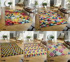 NEW SOFT DURABLE PILE AREA FLOOR RUG LIVING BEDROOM BRIGHT COLOUR PICCADILLY RUG
