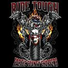 NEU Fantasy Biker Gothic Chopper T-Shirt Bulldogge Dog Ride Tough S - 6XL