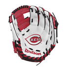 "MLB Cincinnati Reds Wilson A200 Youth  10"" Tee Ball Baseball Fielding Glove on Ebay"