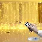 300 Led 3m Fairy Curtain String Lights Wedding Party Room Decor Light Xmas Light