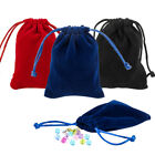 50pc Velvet Jewellery Drawstring Bags Wedding Gift Bag Pouches Christmas Party