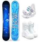 2019 FLOW Star 151cm Women's Snowboard+M3 Bindings+M3 Boots Package NEW