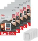5 Pack SanDisk Ultra 16GB 32GB 64GB 48MB/s C10 SD SDHC SDXC SDSDUNB Camera Card